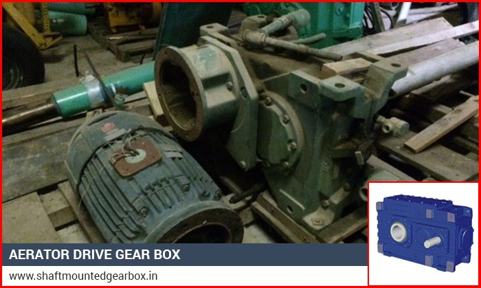Aerator Drive Gear Box