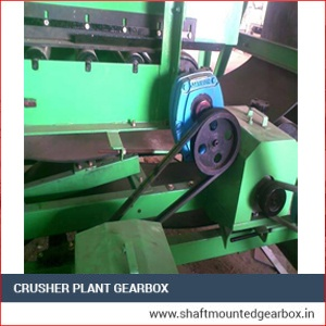 Crusher Plant Gearbox Manufacturer, Supplier and Exporter in Ahmedabad, Gujarat, India