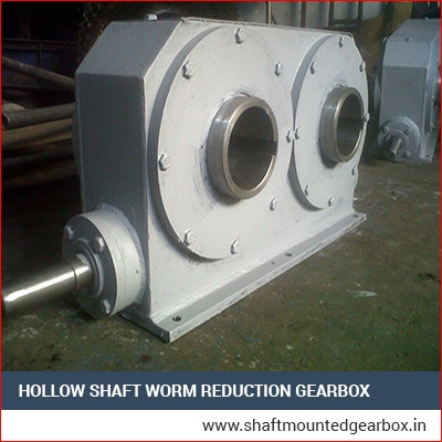 Double Output Worm Reduction Gearbox Manufacturer