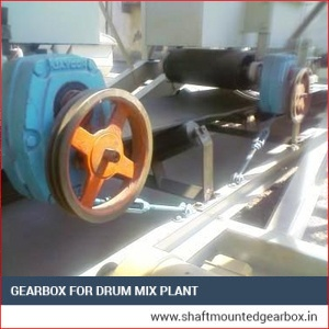 Gearbox for Drum Mix Plant Supplier