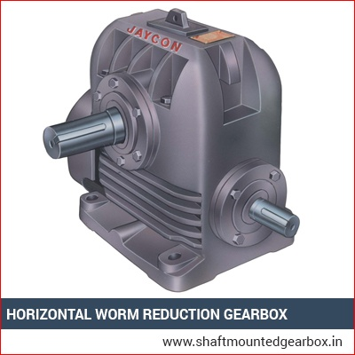 Horizontal Worm Reduction Gearbox Manufacturer