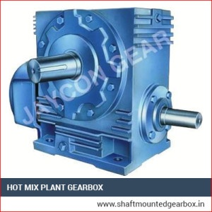 Hot Mix Plant Gearbox Exporter