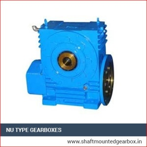 NU Type Gearboxes Manufacturer India