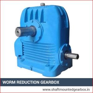 Worm Reduction Gearbox Exporter