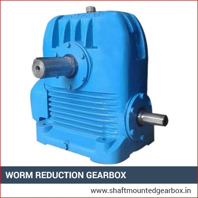 Worm Reduction Gearbox Manufacturer, Supplier and Exporter in Gujarat, India