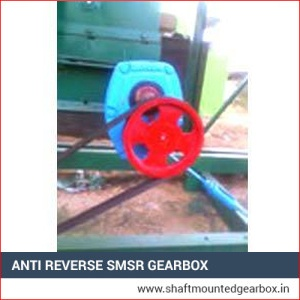 Anti Reverse SMSR Gearbox Manufacturer in india