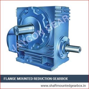 Flange Mounted Reduction Gearbox Supplier and Exporter in India