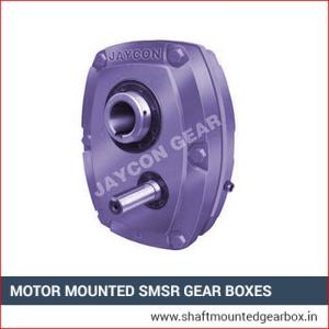 Motor Mounted SMSR Gear Boxes Supplier in ajmer