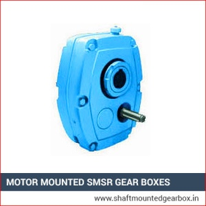 Motor Mounted SMSR Gear Boxes Supplier in india