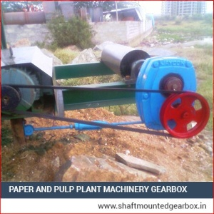 Paper and Pulp Plant Machinery Gearbox Suppliers India