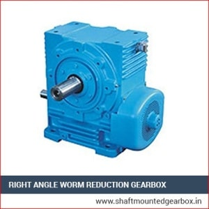 right angle worm reduction gearbox manufacturer and supplier in gujarat