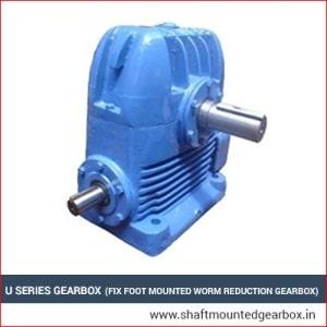 u series gearbox manufacturer and supplier in gujarat india