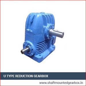 U Type Reduction Gearbox exporter manufacturer and supplier in india