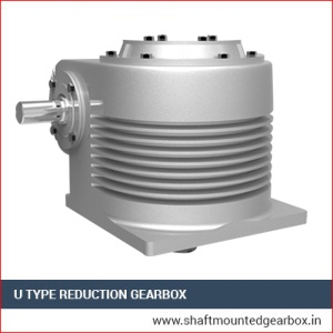 U Type Reduction Gearbox Manufacturers and supplier in jabalpur