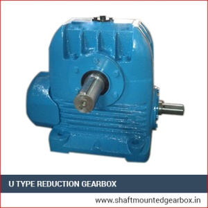 U Type Reduction Gearbox Supplier in india