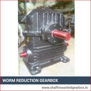 Worm Reduction Gearbox Supplier